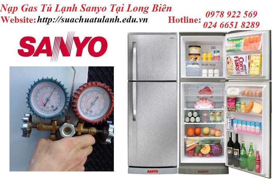 Nạp Gas Tủ Lạnh Sanyo Tại Long Biên