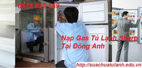Nạp Gas Tủ Lạnh Sharp Tại Đông Anh