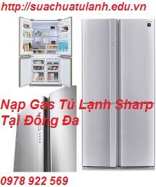 Nạp Gas Tủ Lạnh Sharp Tại Đống Đa