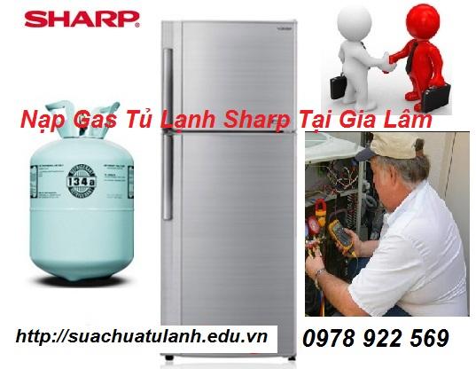 Nạp Gas Tủ Lạnh Sharp Tại Gia Lâm