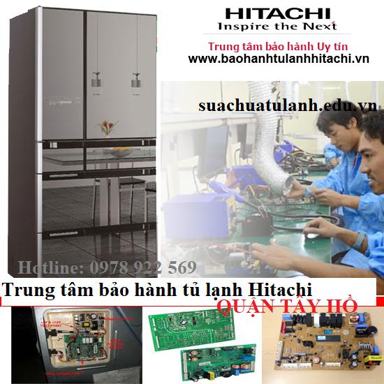 Trung Tâm Bảo Hành Tủ Lạnh Hitachi Quận Tây Hồ