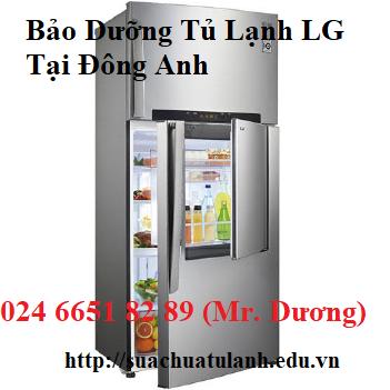 Bảo Dưỡng Tủ Lạnh LG Tại Đông Anh
