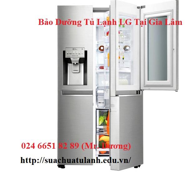 Bảo Dưỡng Tủ Lạnh LG Tại Gia Lâm