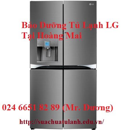 Bảo Dưỡng Tủ Lạnh LG Tại Hoàng Mai