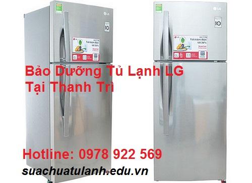 Bảo Dưỡng Tủ Lạnh LG Tại Thanh Trì