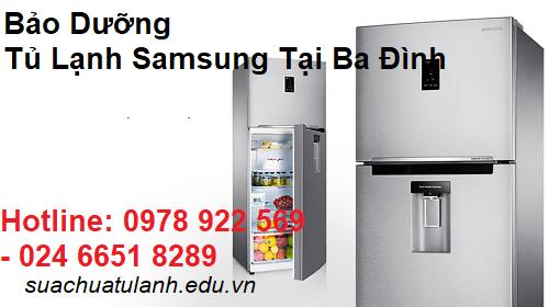 Bảo Dưỡng Tủ Lạnh Samsung Tại Ba Đình