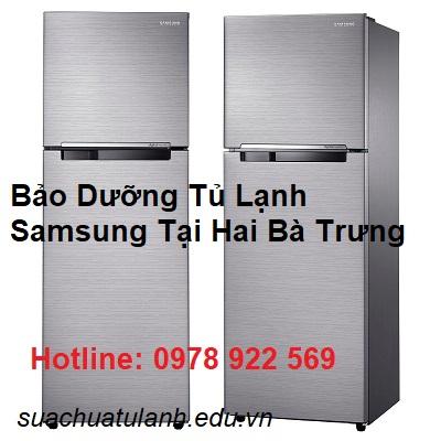 Bảo Dưỡng Tủ Lạnh Samsung Tại Hai Bà Trưng