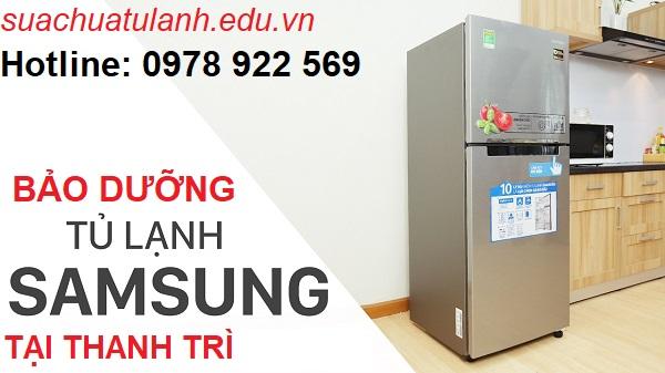 Bảo dưỡng tủ lạnh Samsung tại Thanh Trì
