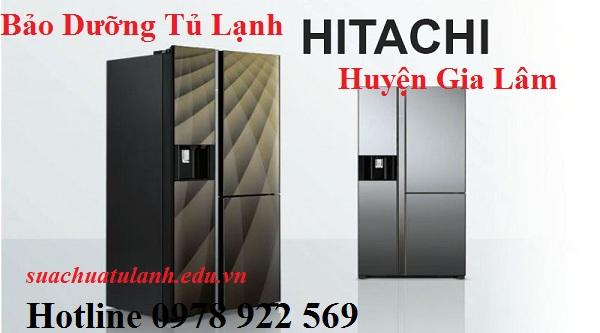 Bảo Dưỡng Tủ Lạnh Hitachi Huyện Gia Lâm