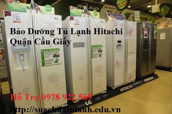Bảo Dưỡng Tủ Lạnh Hitachi Quận Cầu Giấy