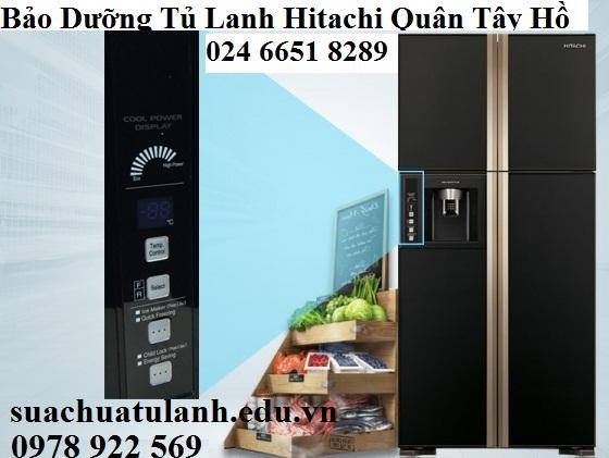 Bảo Dưỡng Tủ Lạnh Hitachi Quận Tây Hồ