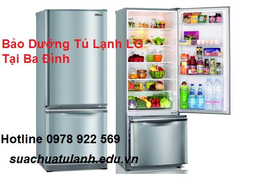 Bảo Dưỡng Tủ Lạnh LG Tại Ba Đình