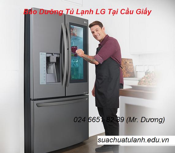 Bảo Dưỡng Tủ Lạnh LG Tại Cầu Giấy