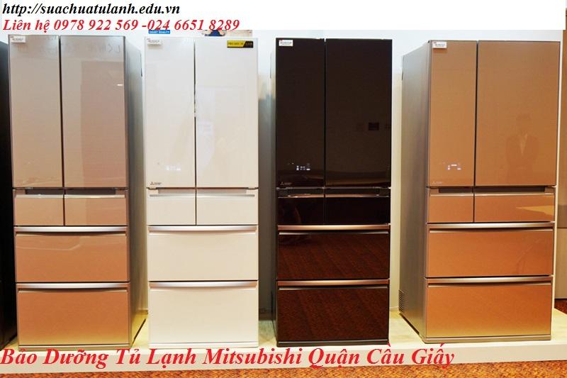Bảo Dưỡng Tủ Lạnh Mitsubishi Quận Cầu Giấy