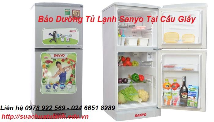 Bảo Dưỡng Tủ Lạnh Sanyo Tại Cầu Giấy