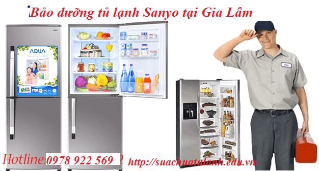 Bảo Dưỡng Tủ Lạnh Sanyo Tại Gia Lâm