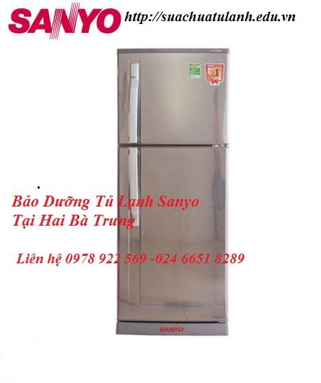 Bảo Dưỡng Tủ Lạnh Sanyo Tại Hai Bà Trưng