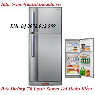 Bảo Dưỡng Tủ Lạnh Sanyo Tại Hoàn Kiếm