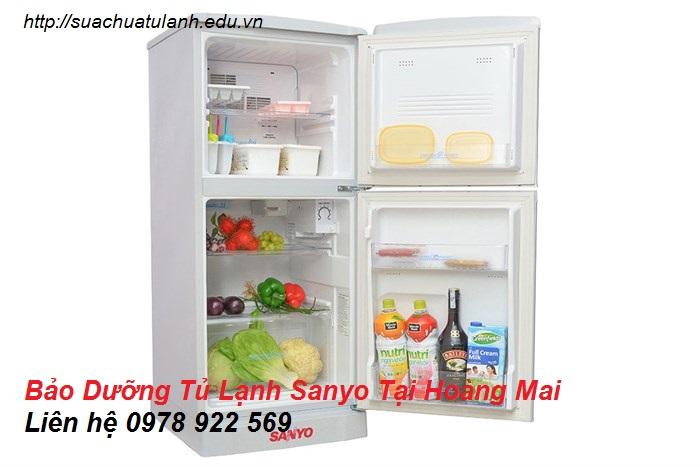 Bảo Dưỡng Tủ Lạnh Sanyo Tại Hoàng Mai
