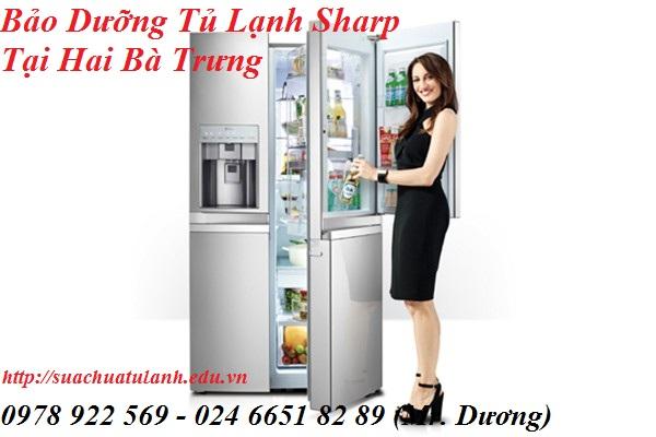 Bảo Dưỡng Tủ Lạnh Sharp Tại Hai Bà Trưng