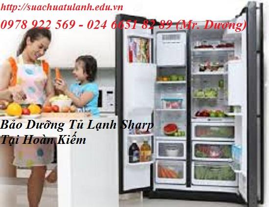 Bảo Dưỡng Tủ Lạnh Sharp Tại Hoàn Kiếm