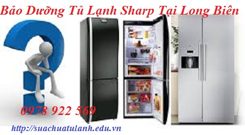 Bảo Dưỡng Tủ Lạnh Sharp Tại Long Biên