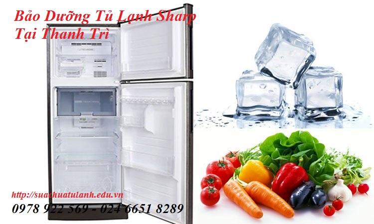 Bảo Dưỡng Tủ Lạnh Sharp Tại Thanh Trì