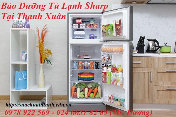 Bảo Dưỡng Tủ Lạnh Sharp Tại Thanh Xuân
