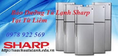 Bảo Dưỡng Tủ Lạnh Sharp Tại Từ Liêm