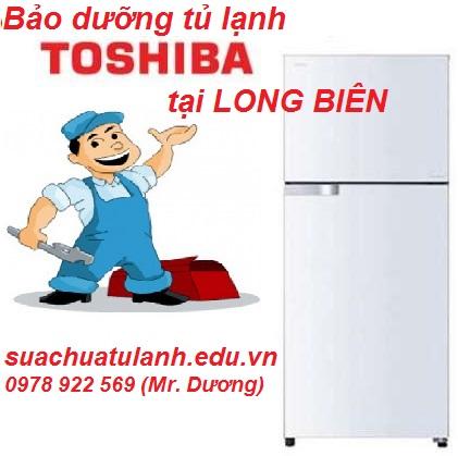Bảo Dưỡng Tủ Lạnh Toshiba Tại Long Biên