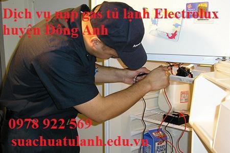 Dịch Vụ Nạp Gas Tủ Lạnh Electrolux Huyện Đông Anh