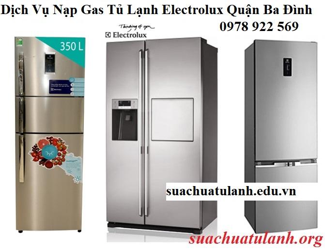 Dịch Vụ Nạp Gas Tủ Lạnh Electrolux Quận Ba Đình