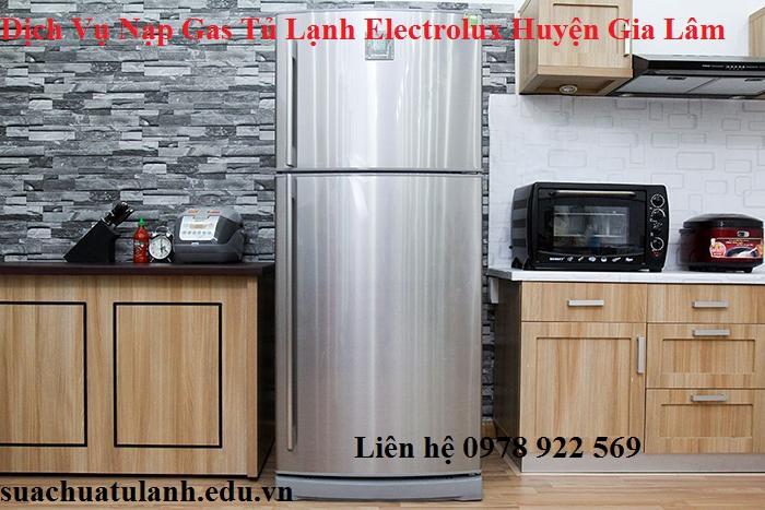 Dịch Vụ Nạp Gas Tủ Lạnh Electrolux Huyện Gia Lâm