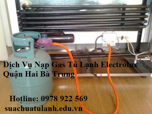 Dịch Vụ Nạp Gas Tủ Lạnh Electrolux Quận Hai Bà Trưng