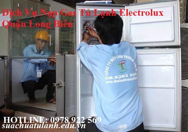 Dịch Vụ Nạp Gas Tủ Lạnh Electrolux Quận Long Biên