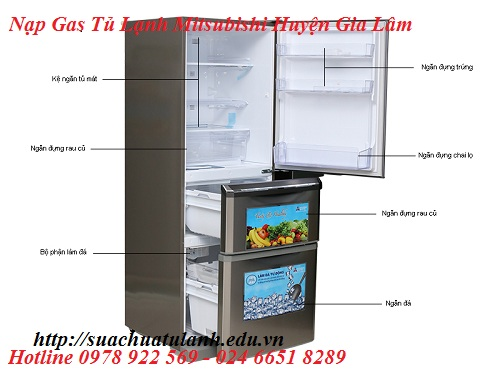 Nạp Gas Tủ Lạnh Mitsubishi Huyện Gia Lâm