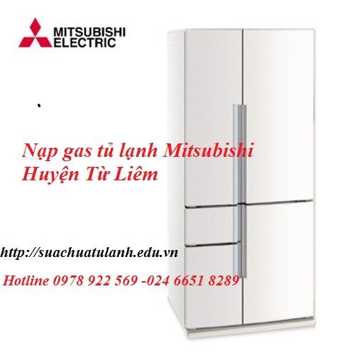 Nạp Gas Tủ Lạnh Mitsubishi Huyện Từ Liêm