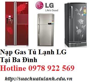 Nạp Gas Tủ Lạnh LG Tại Ba Đình