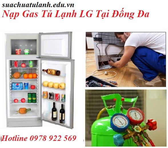 Nạp Gas Tủ Lạnh LG Tại Đống Đa