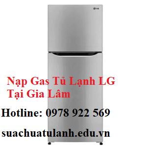 Nạp Gas Tủ Lạnh LG Tại Gia Lâm