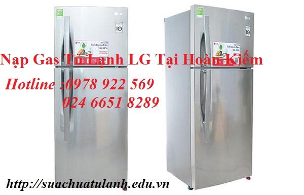 Nạp Gas Tủ Lạnh LG Tại Hoàn Kiếm
