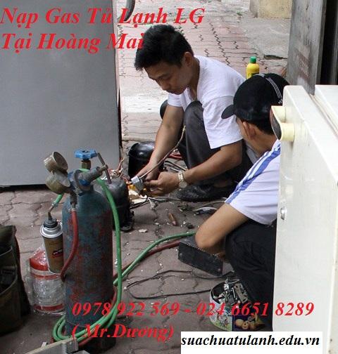 Nạp Gas Tủ Lạnh LG Tại Hoàng Mai