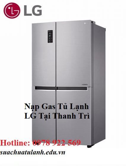 Nạp Gas Tủ Lạnh LG Tại Thanh Trì