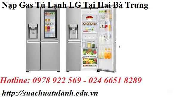 Nạp Gas Tủ Lạnh LG Tại Hai Bà Trưng