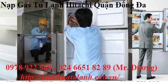 Nạp Gas Tủ Lạnh Hitachi Quận Đống Đa