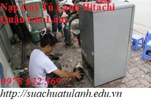 Nạp Gas Tủ Lạnh Hitachi Quận Gia Lâm