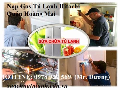 Nạp Gas Tủ Lạnh Hitachi Quận Hoàng Mai