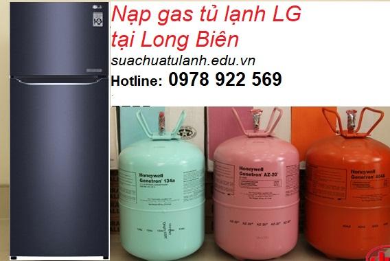 Nạp Gas Tủ Lạnh LG Tại Long Biên
