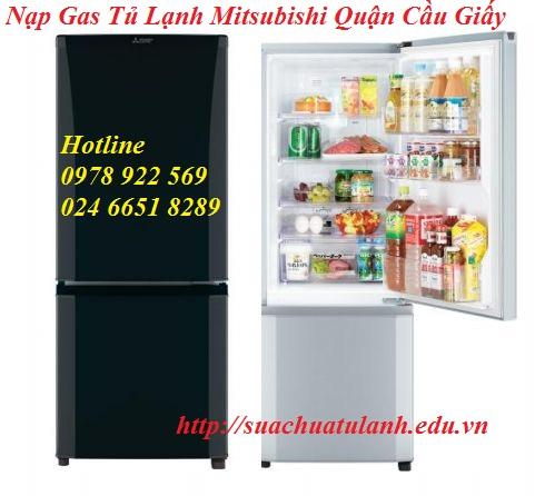 Nạp Gas Tủ Lạnh Mitsubishi Quận Cầu Giấy