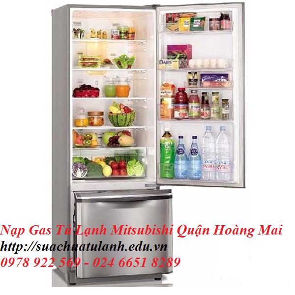 Nạp Gas Tủ Lạnh Mitsubishi Quận Hoàng Mai